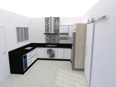 Projeto Móveis CFLC Cozinha