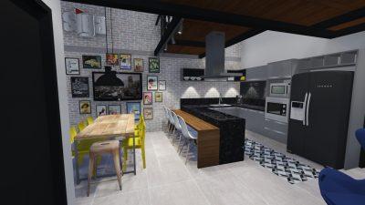 Projeto Construção de Área Gourmet CDP